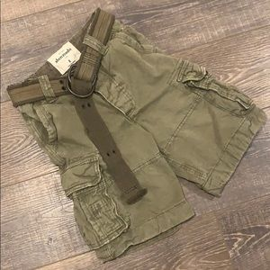 Abercrombie Distressed Cargo Shorts